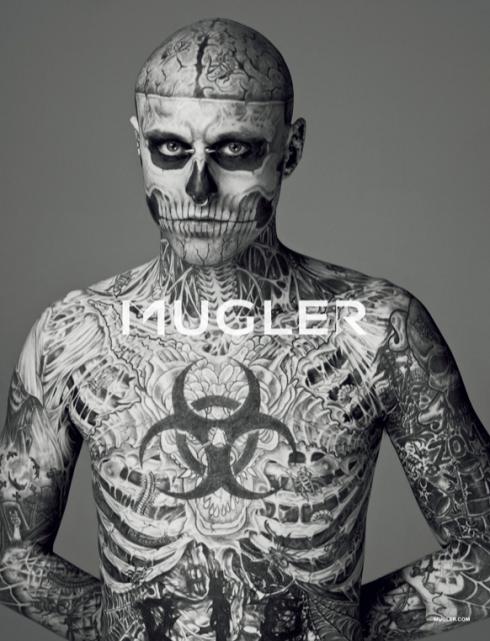 Model Zombie, Full body