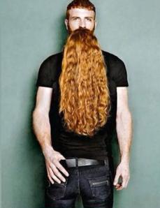 beard on beard